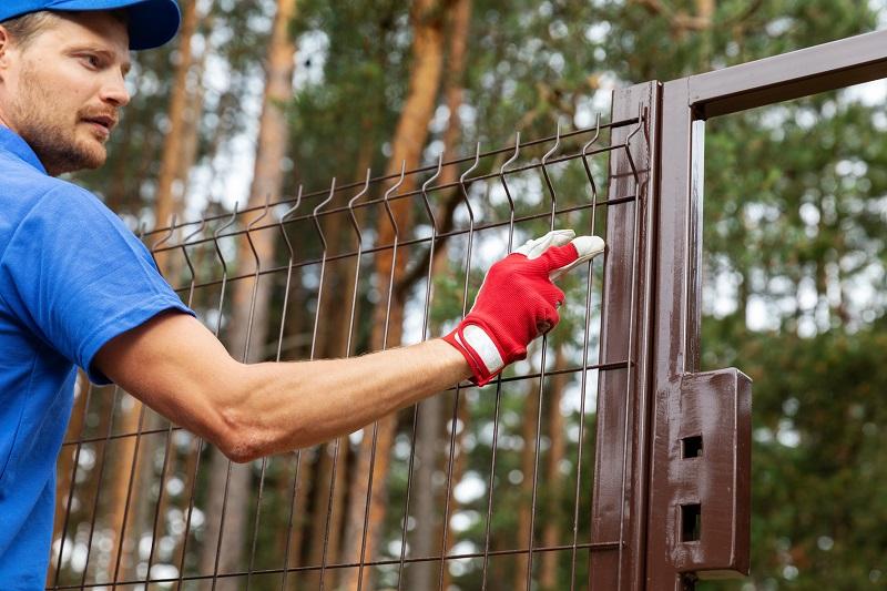 Estetyka ogrodzenia tymczasowego